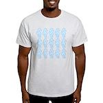 Light Blue Seahorses T-Shirt