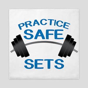Practice Safe Sets Queen Duvet