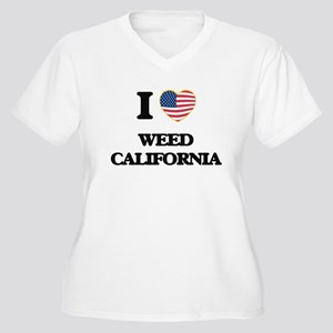 I love Weed California USA Desig Plus Size T-Shirt