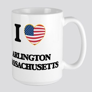 I love Arlington Massachusetts USA Design Mugs