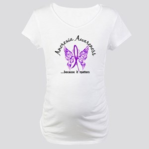 Anorexia Butterfly 6.1 Maternity T-Shirt