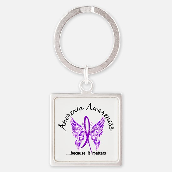 Anorexia Butterfly 6.1 Square Keychain