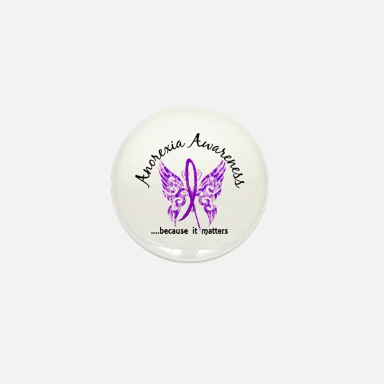 Anorexia Butterfly 6.1 Mini Button