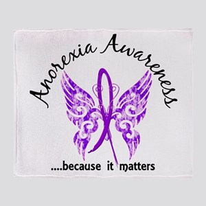 Anorexia Butterfly 6.1 Throw Blanket
