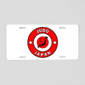 Judo Aluminum License Plate