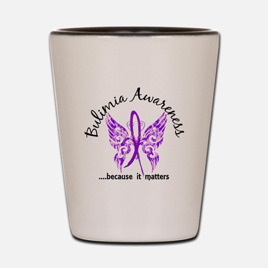 Bulimia Butterfly 6.1 Shot Glass