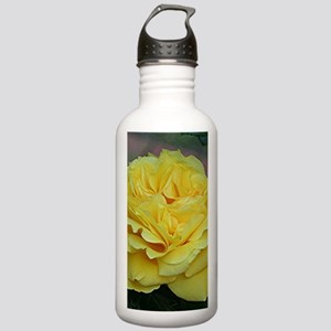 Yellow rose flower in Stainless Water Bottle 1.0L