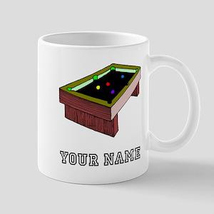 Pool Table (Custom) Mugs