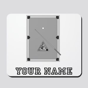 Pool Table (Custom) Mousepad