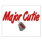 USAF Major Cutie Small Poster