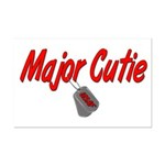 USAF Major Cutie  Mini Poster Print