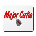 USAF Major Cutie Mousepad
