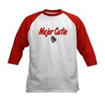 USAF Major Cutie Kids Baseball Jersey