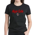 USAF Major Cutie Women's Dark T-Shirt