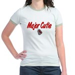 USAF Major Cutie Jr. Ringer T-Shirt