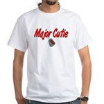 USAF Major Cutie White T-Shirt