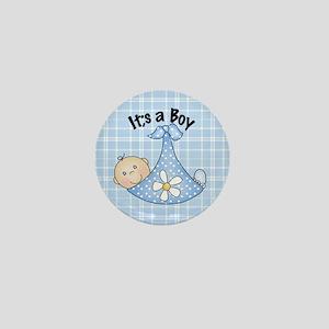 It's A Boy Baby Bundle Mini Button