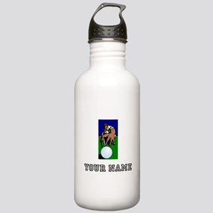 Billiards Player (Custom) Water Bottle