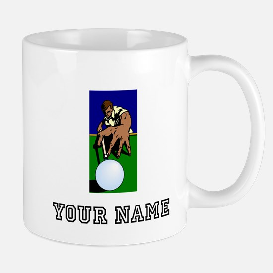 Billiards Player (Custom) Mugs