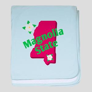 Magnolia Street baby blanket