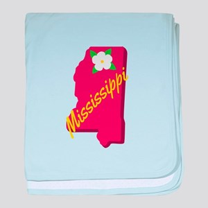 Mississippi baby blanket