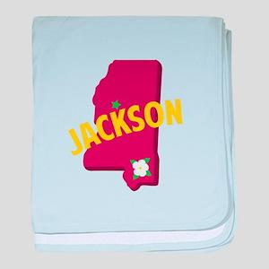 Jackson baby blanket