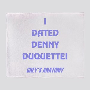 DENNY DUQUETTE Throw Blanket