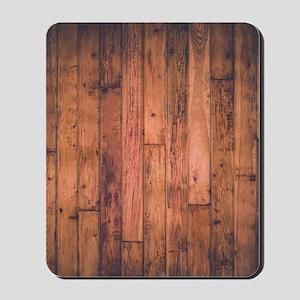 Old Wood Planks Mousepad