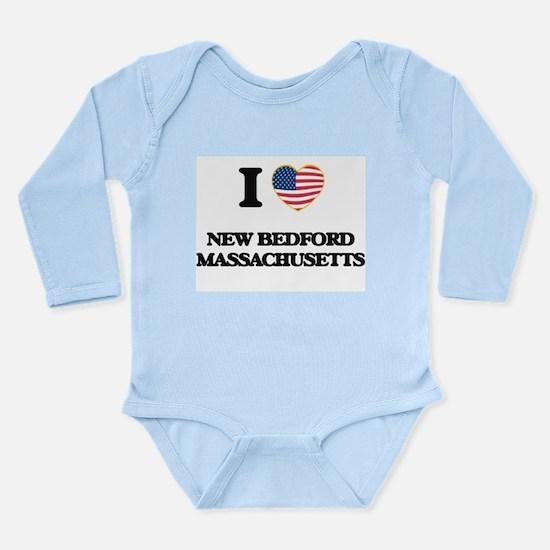 I love New Bedford Massachusetts Body Suit
