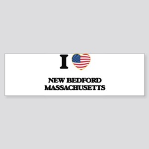 I love New Bedford Massachusetts Bumper Sticker