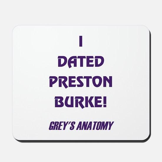 PRESTON BURKE Mousepad