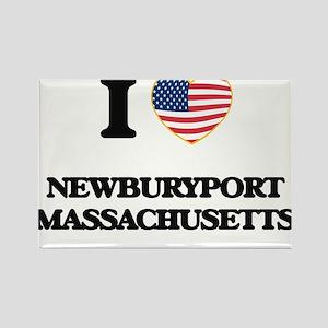 I love Newburyport Massachusetts Magnets