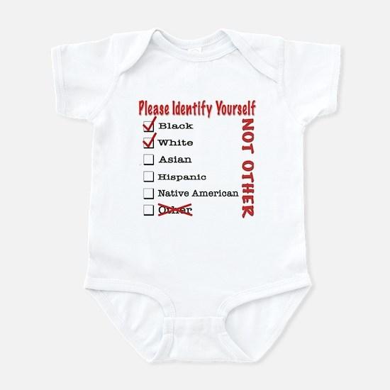 PleaseID-BW Infant Bodysuit
