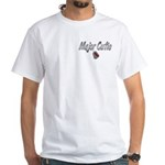 USAF Major Cutie ver2 White T-Shirt