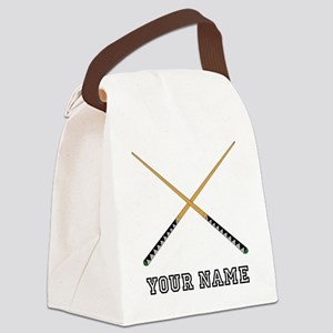 Pool Cues (Custom) Canvas Lunch Bag