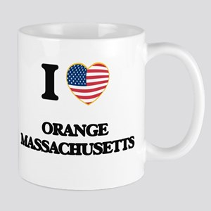 I love Orange Massachusetts Mugs