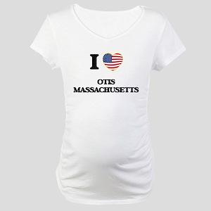 I love Otis Massachusetts Maternity T-Shirt