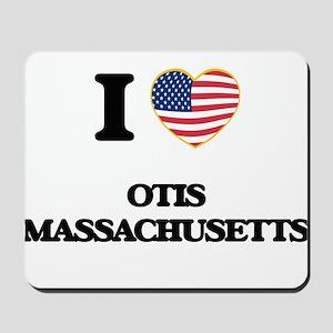 I love Otis Massachusetts Mousepad
