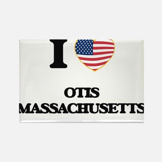 I love Otis Massachusetts Magnets