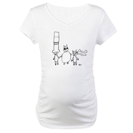 The 3 Little Pigs Maternity T-Shirt