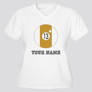 13 Ball (Custom) Plus Size T-Shirt