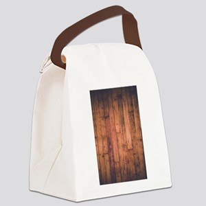 Old Wood Planks Canvas Lunch Bag
