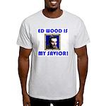 ED WOOD SAVIOR Cool Ash Grey Semi Cheap Shirt