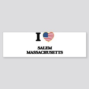 I love Salem Massachusetts Bumper Sticker