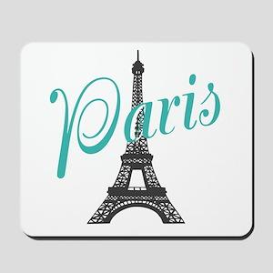 Vintage Paris Eiffel Tower Mousepad