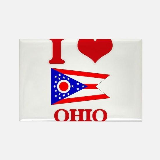 I Love Ohio Magnets