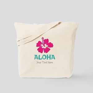 Hawaiian flower Aloha Tote Bag