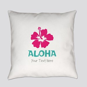 Hawaiian flower Aloha Everyday Pillow