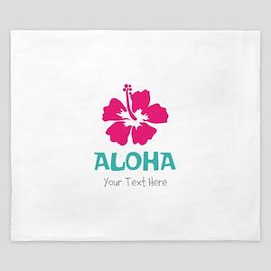 Hawaiian flower Aloha King Duvet