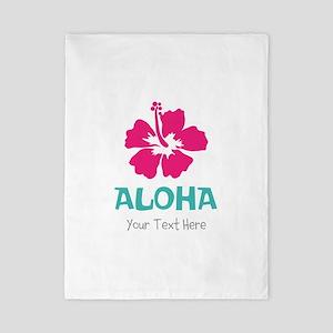 Hawaiian flower Aloha Twin Duvet